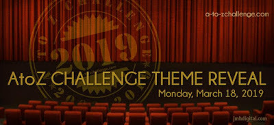 A to Z 2019 Challenge ThemeRevel